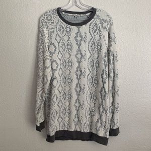 Ecote | Midnight eclipse pullover sweatshirt M